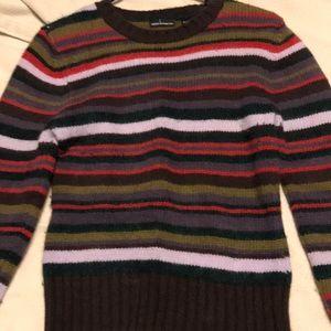 Women's MODA INTERNATIONAL Medium Striped Sweater